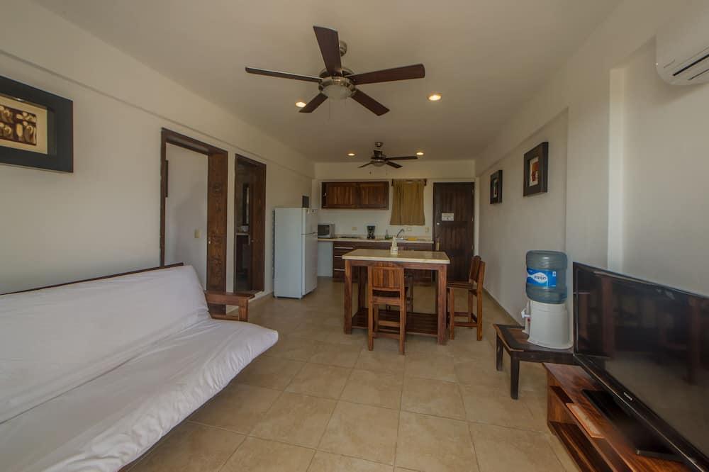Standard-Apartment, 1Queen-Bett und Schlafsofa - Wohnbereich