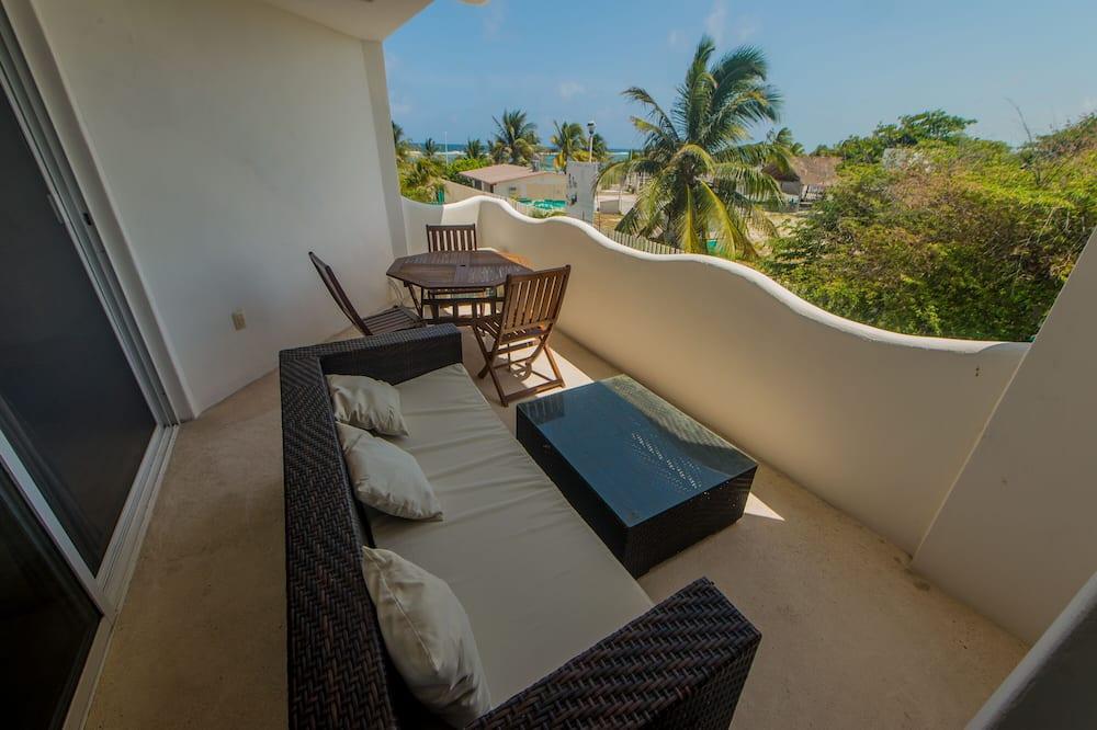 Standard-Apartment, 1Queen-Bett und Schlafsofa - Terrasse/Patio