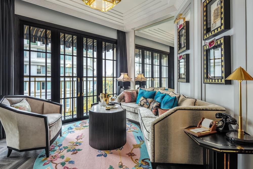Apartament typu Suite (Capella) - Salon