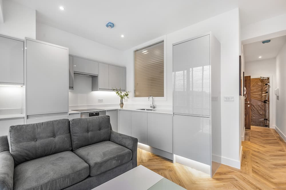 Apartamento Clássico - Área de Estar