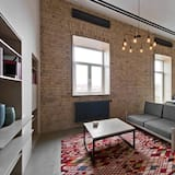 Апартаменты, 1 двуспальная кровать «Квин-сайз» - Зона гостиной