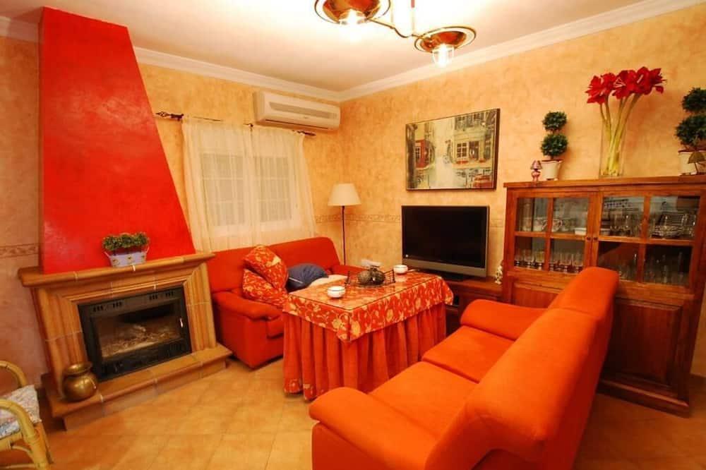 家庭木屋, 3 間臥室 - 客廳