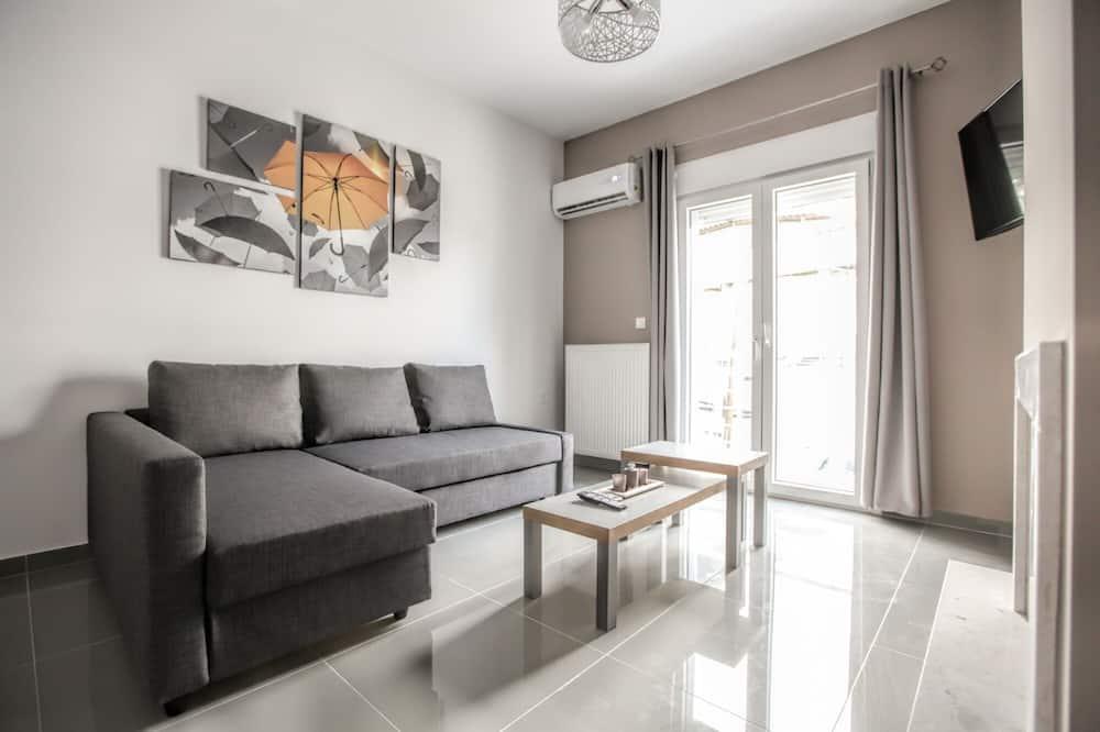 Luxury-Apartment - Wohnzimmer