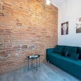 Apartament, Wiele łóżek - Salon