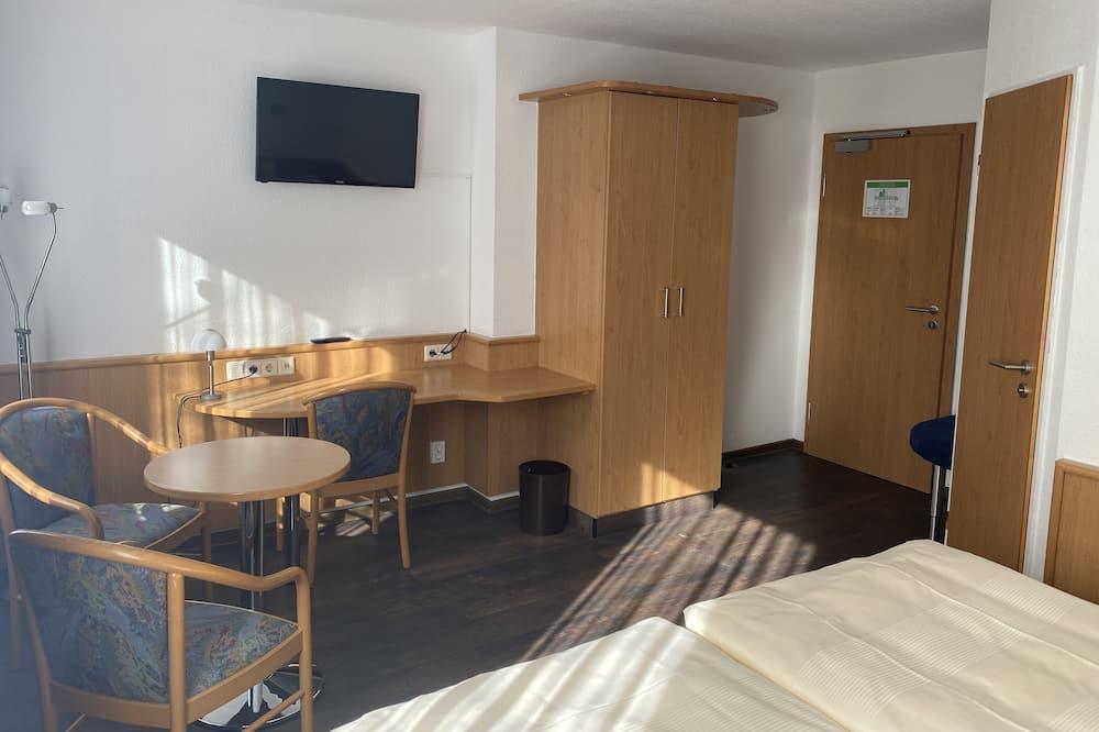 غرفة ثلاثية لرجال الأعمال - منطقة المعيشة