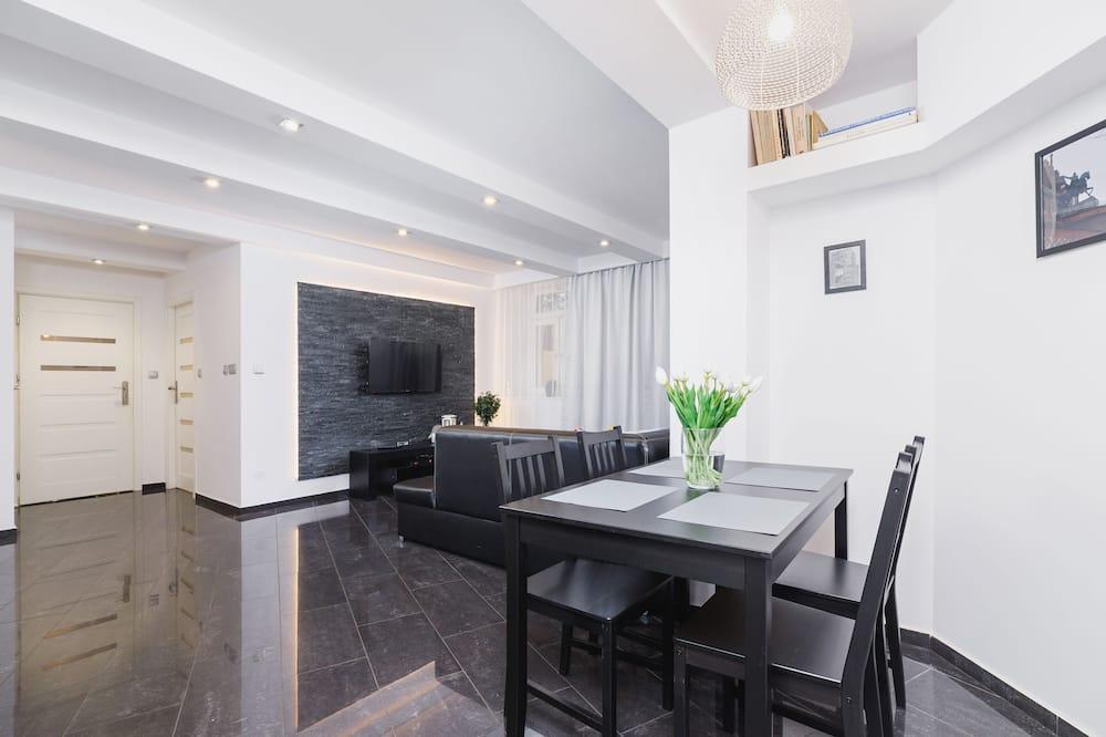 Departamento, 1 habitación, cocina - Sala de estar