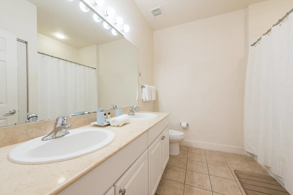 ヴィラ - バスルーム