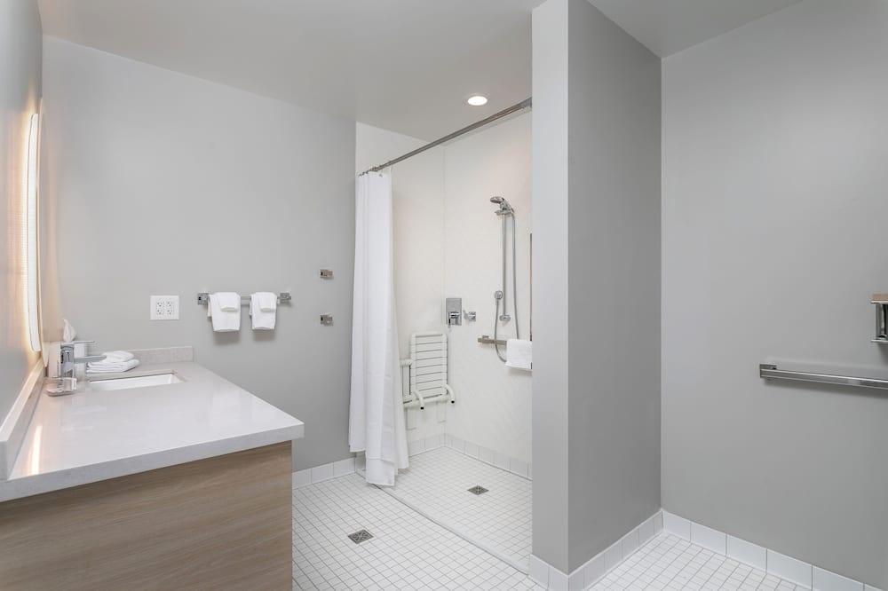 Studio, 1 suuri parisänky ja vuodesohva - Kylpyhuone