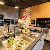 סטודיו, 2 מיטות יחיד (Side by Side) - מטבח משותף