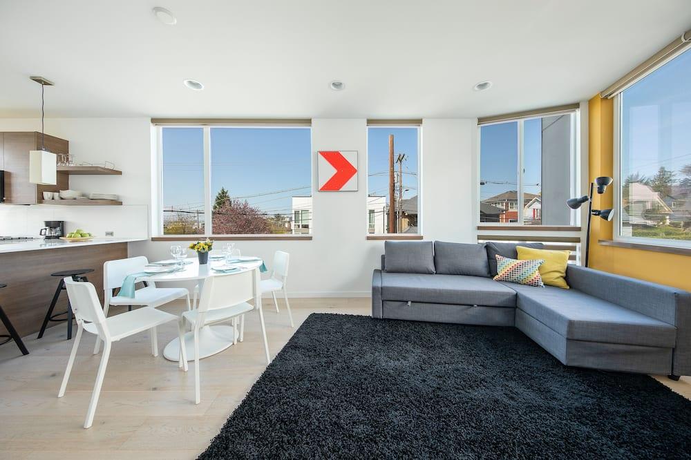 Hosteeva Modern Townhome w Rooftop