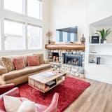 Stadtwohnung, 2Schlafzimmer - Wohnzimmer
