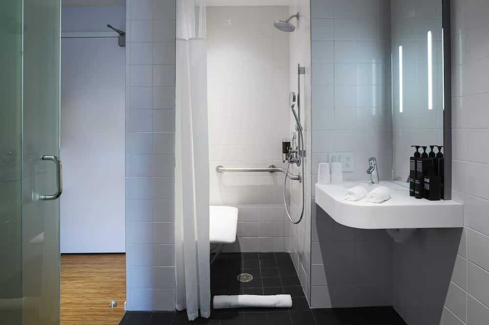 Kamar Double Comfort, 1 Tempat Tidur King, akses difabel - Kamar mandi