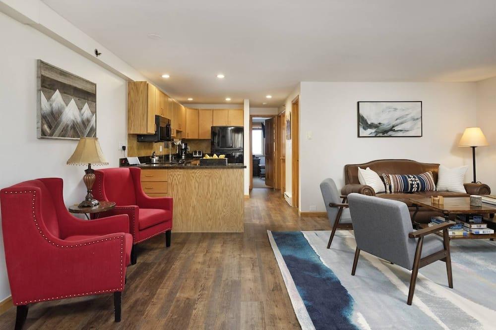 Appart'hôtel (Terracehouse 81) - Salle de séjour