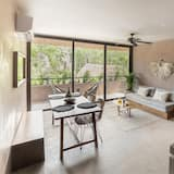 Standard-Apartment, 1King-Bett und Schlafsofa - Wohnbereich