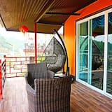 Deluxe kamer, uitzicht op meer (2 people) - Balkon