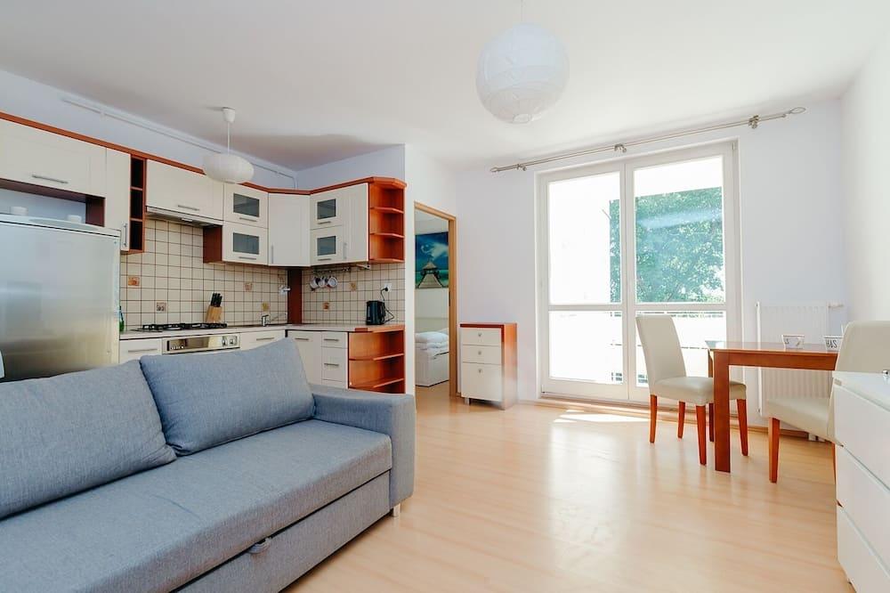 Căn hộ phong cách cổ điển - Phòng khách