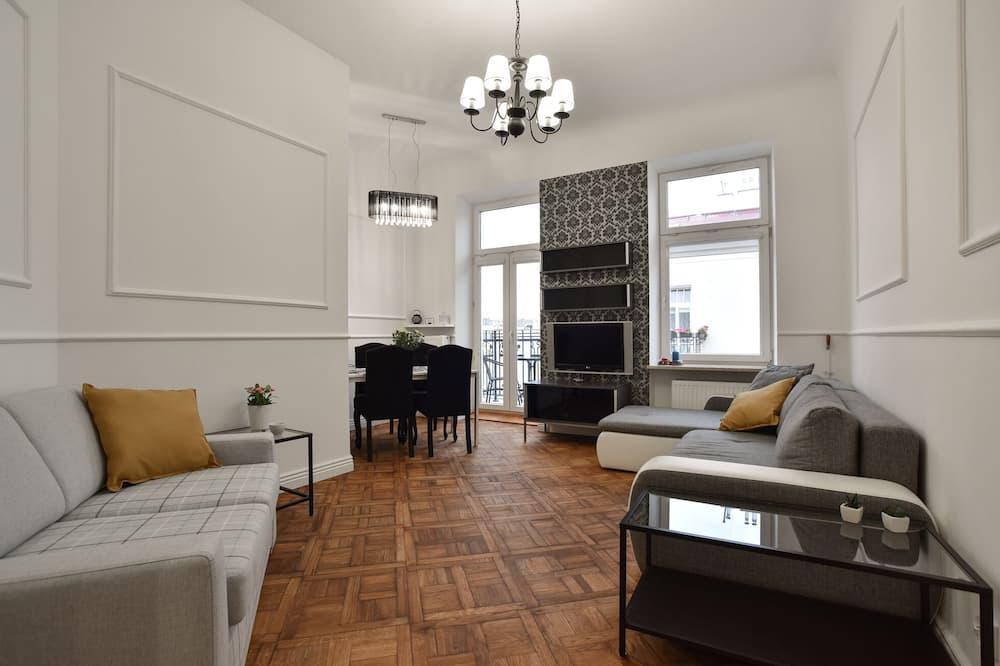Căn hộ Exclusive - Phòng khách