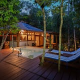 Luxury Cabin, Private Pool (Jungle villa NAH-HA with Terrace) - Terrace/Patio