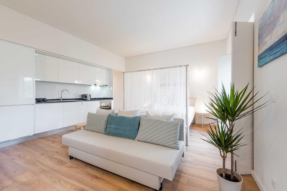 Basic Apartment, 1 Katil Kelamin (Double) dengan Katil Sofa - Bilik Rehat