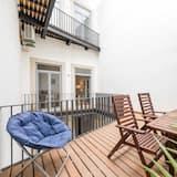 Lägenhet Basic - 1 dubbelsäng - Balkong