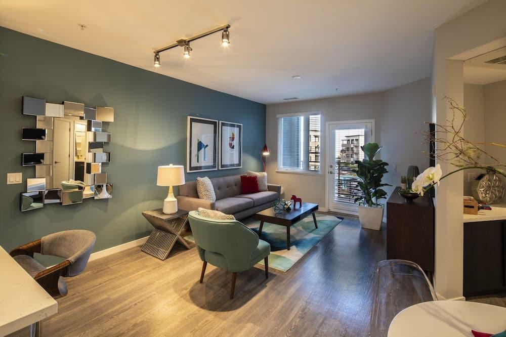 Квартира «люкс», 3 спальни - Зона гостиной