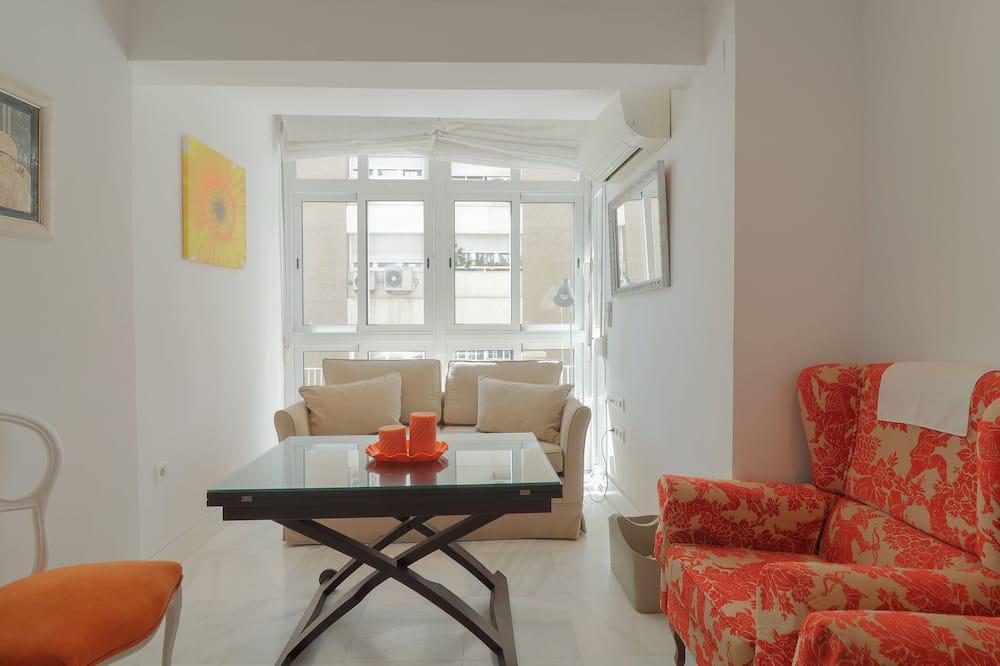 Klassiek appartement, 1 slaapkamer - Woonruimte