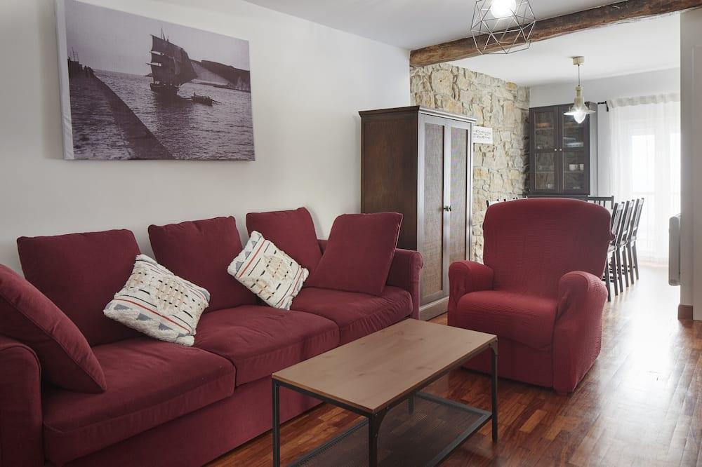 Appartement, 3 chambres, 2 salles de bains - Salle de séjour