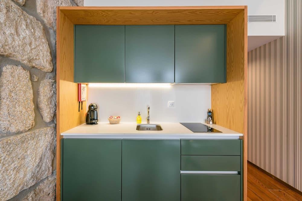 Basic Studio, 1 Katil Kelamin (Double) - Dapur peribadi