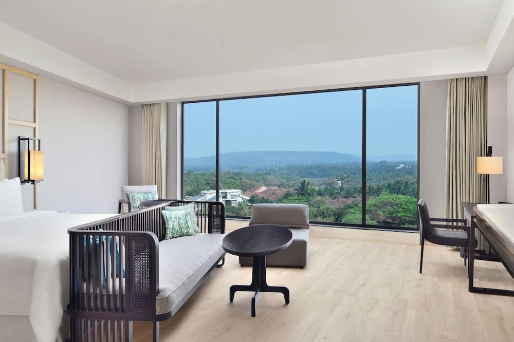 Premium Studio, 1 Katil Raja (King), Non Smoking, Courtyard View (Famliy) - Bilik Tamu