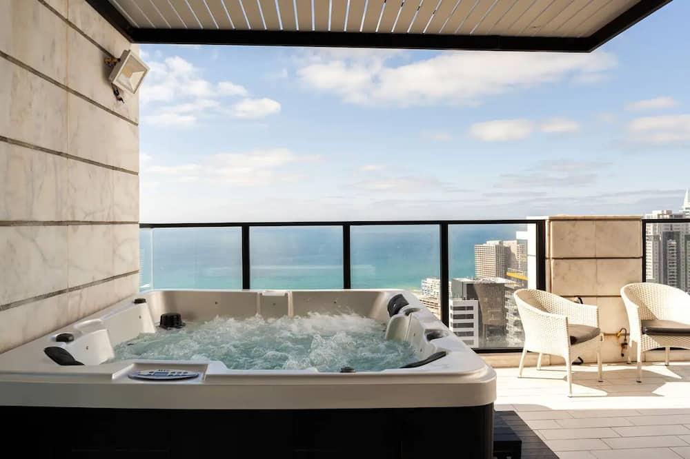 Пентхаус, 4 спальни - Индивидуальная спа-ванна