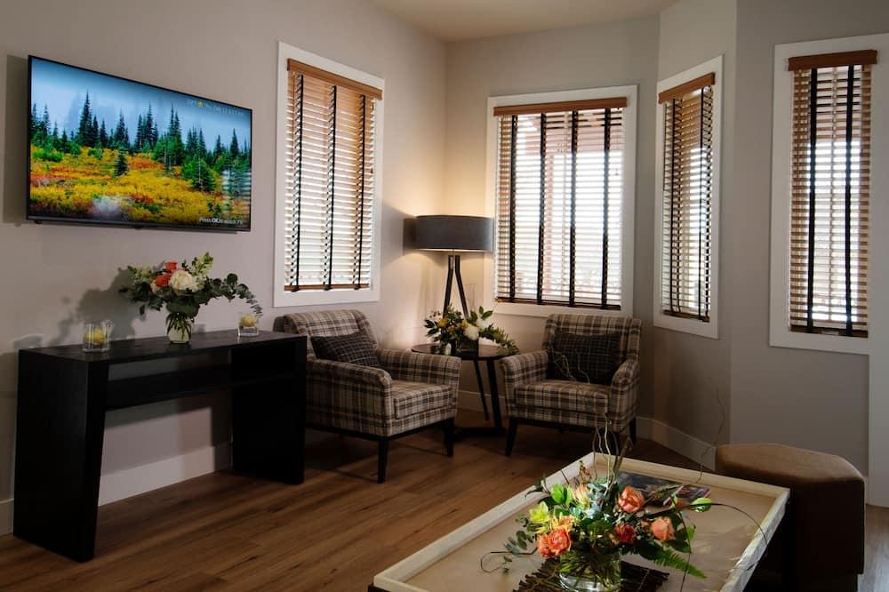 Suite - 1 kingsize-seng med sovesofa - Opholdsområde