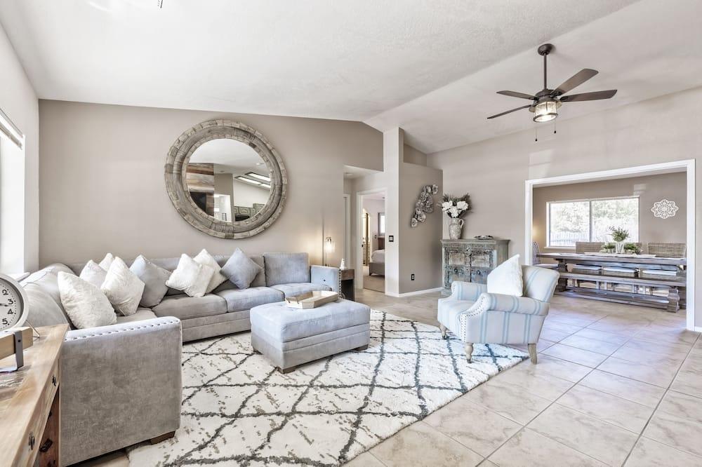 奢華獨棟房屋 - 客廳