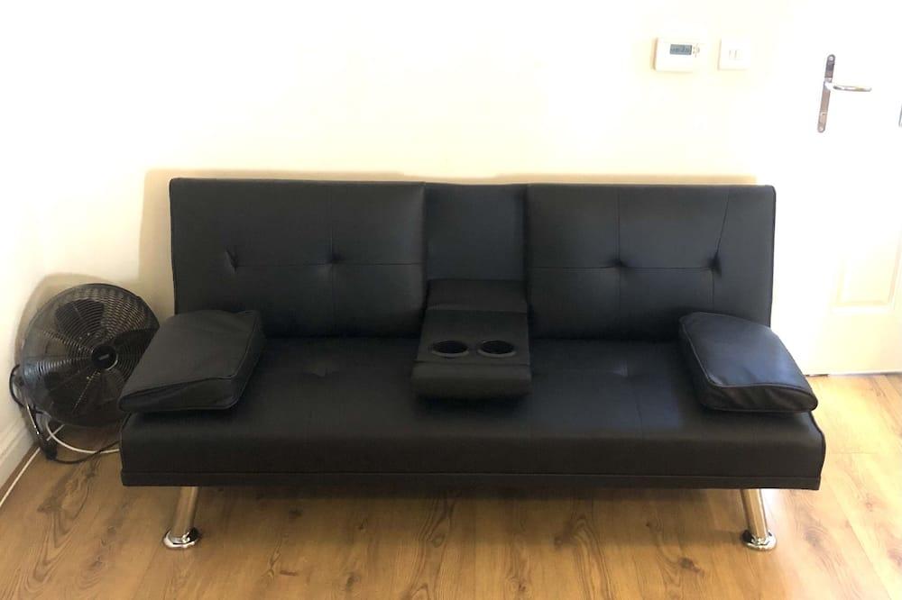 Apartmán, dvojlůžko (180 cm) a rozkládací pohovka - Obývací pokoj