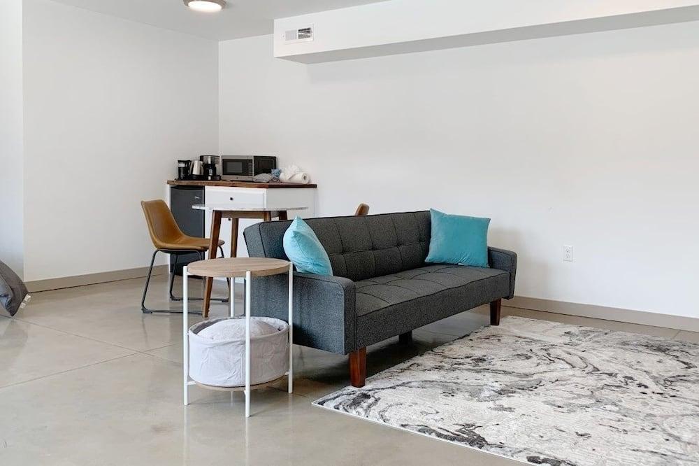 كوخ - غرفة نوم واحدة - وسائل الراحة داخل الغرفة