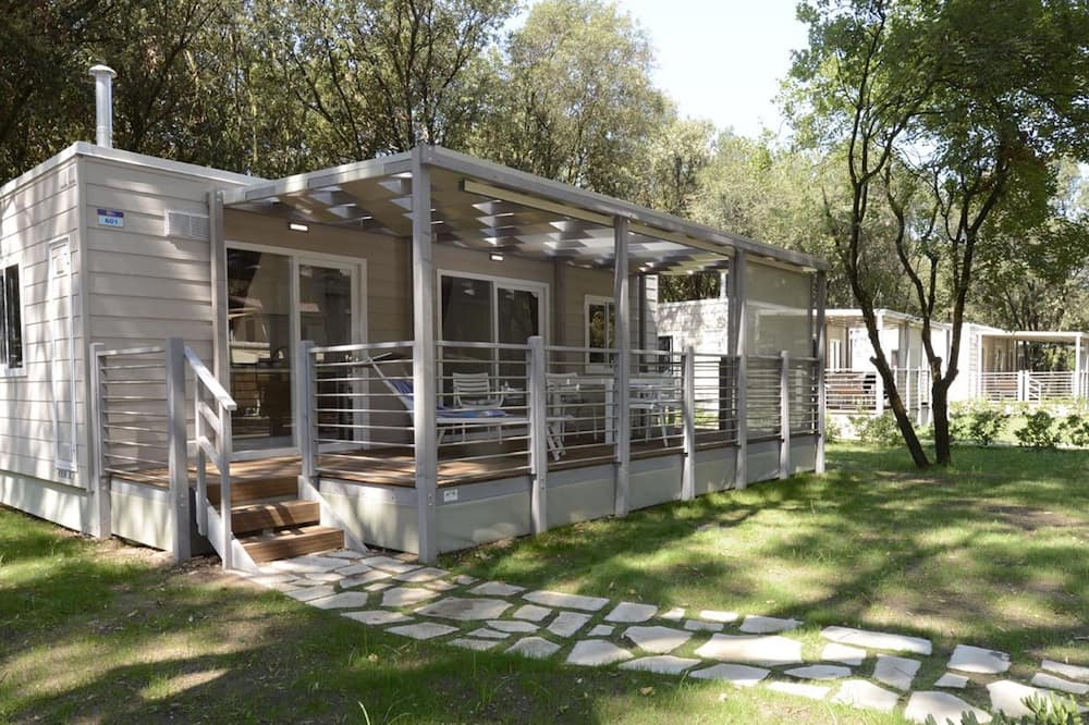 Detached Chalet With AC, in a Natural Park on the Coast