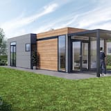 Luxury Lodge With two Bathrooms, on the Markermeer