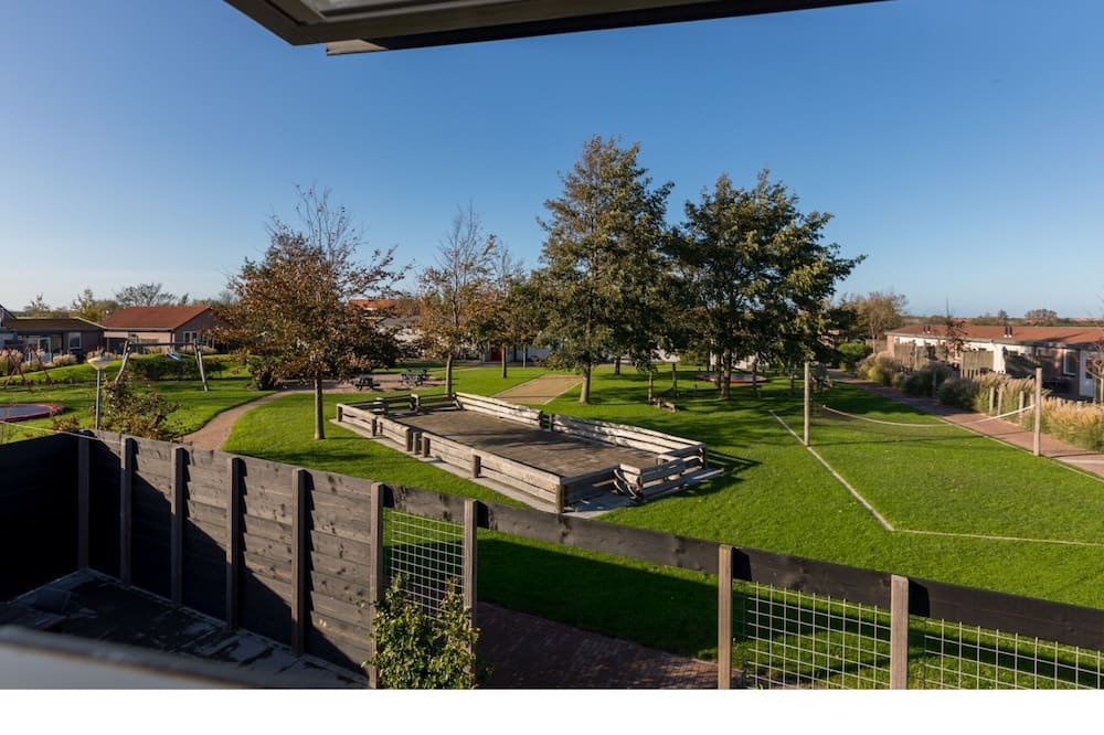 Family House on a Small Park With a Large Playing Field