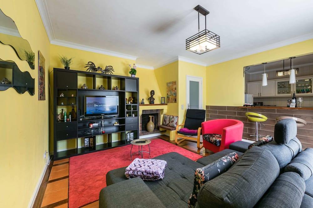 基本公寓, 2 張標準雙人床 - 客廳