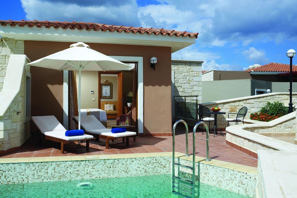 Rodinné apartmá, soukromý bazén - Soukromý bazén