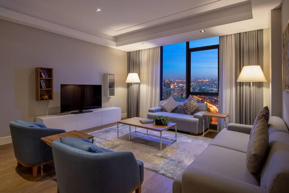 Deluxe Room, 3 Bedrooms - Ruang Tamu