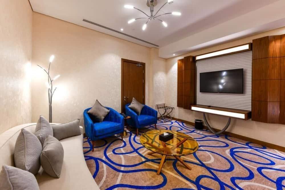 Улучшенный номер - Зона гостиной