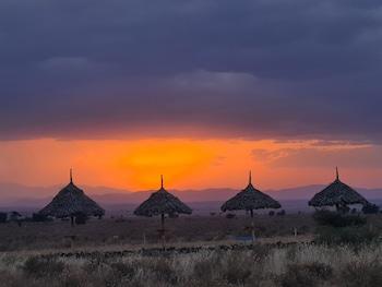Foto van Amanya Camp1-bed King Lion Tent in Amboseli NP in Amboseli