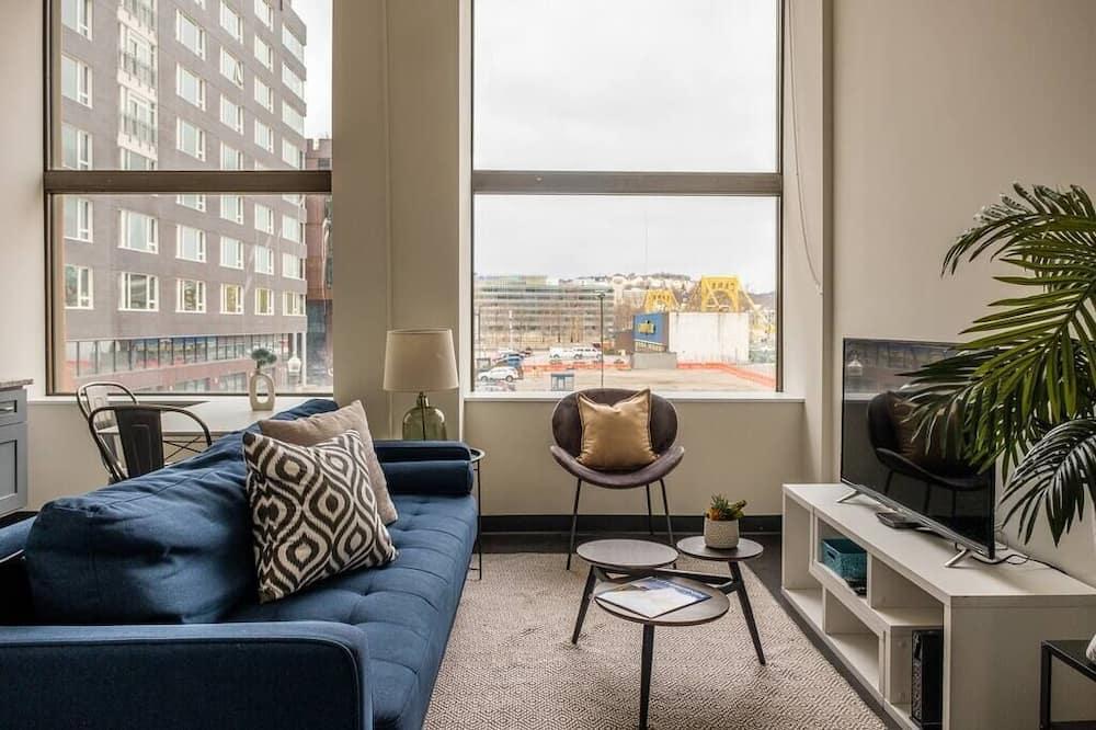 Apartment, 1 Bedroom, Kitchen, City View (1 Bedroom) - Living Area