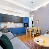 อพาร์ทเมนท์, 2 ห้องนอน, ห้องครัว - ห้องนั่งเล่น