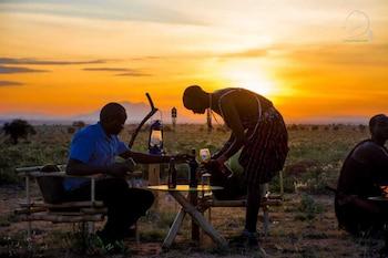 A(z) Amanya Camp 2 Single -bed Wigwam in Amboseli hotel fényképe itt: Amboseli