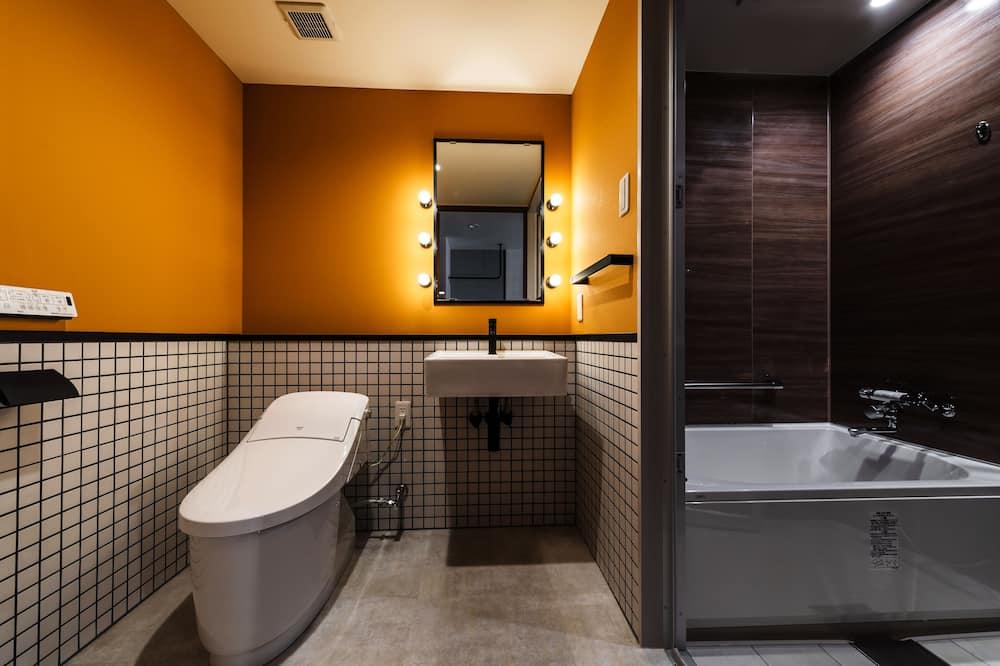 트윈룸, 금연 - 욕실