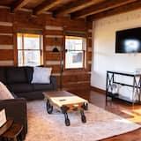 Ferienhütte (Sugar Valley Lodge, Cabin Built in 17) - Wohnzimmer