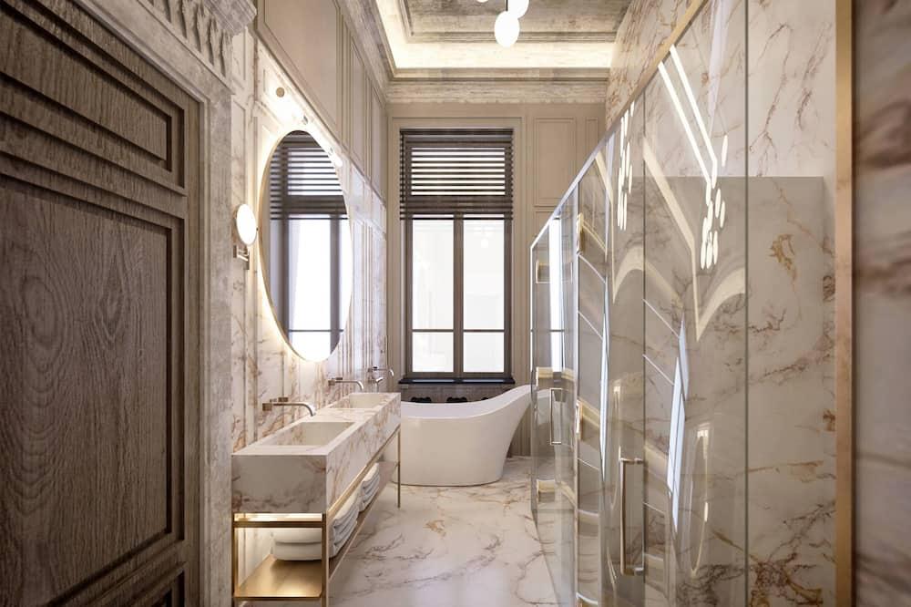 Suite, 1 Bedroom, Non Smoking, Balcony (Marmorosch) - Bathroom