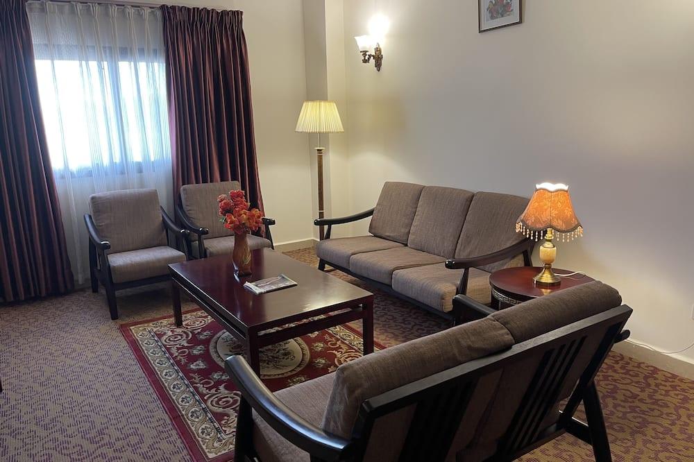 Suite ejecutiva - Sala de estar