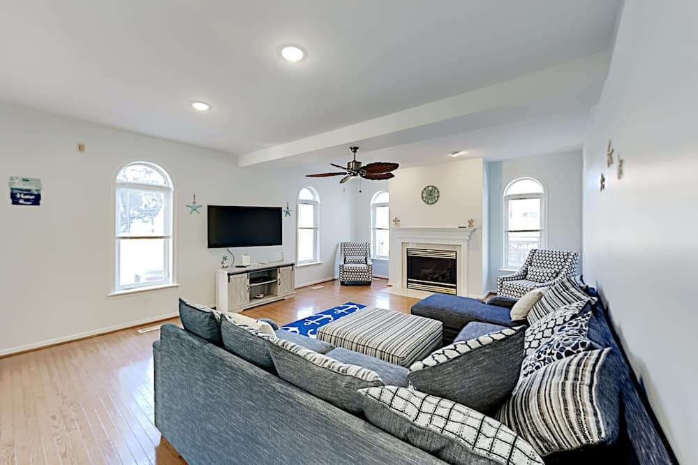 單棟房屋, 5 間臥室 - 客廳